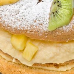 Receta pastel de frutas