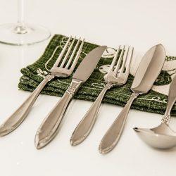 Cuberteria: cuchara, cuchillo y tenedor