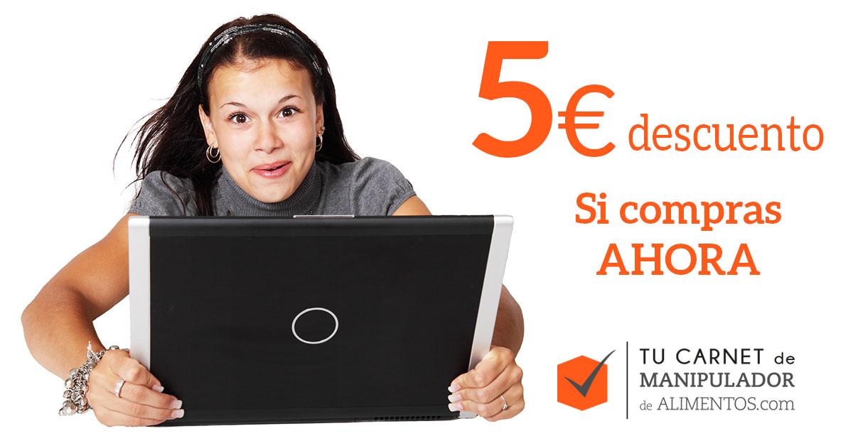 Descuento 5€ con código descuento ofertaseptiembre en nuestro curso online