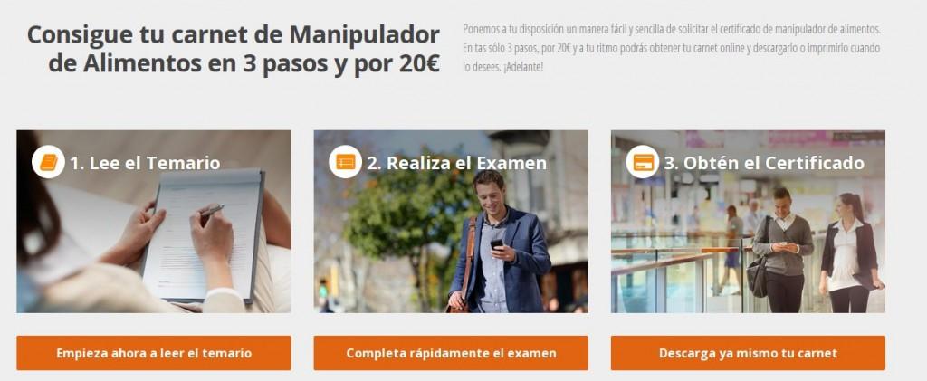 Carnet de manipulador de alimentos online qu validez tiene - Carnet de manipulador de alimentos homologado ...