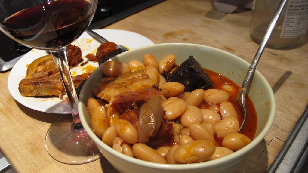 Fabada asturiana con chorizo