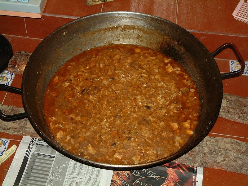 Gazpacho manchego (galianos)