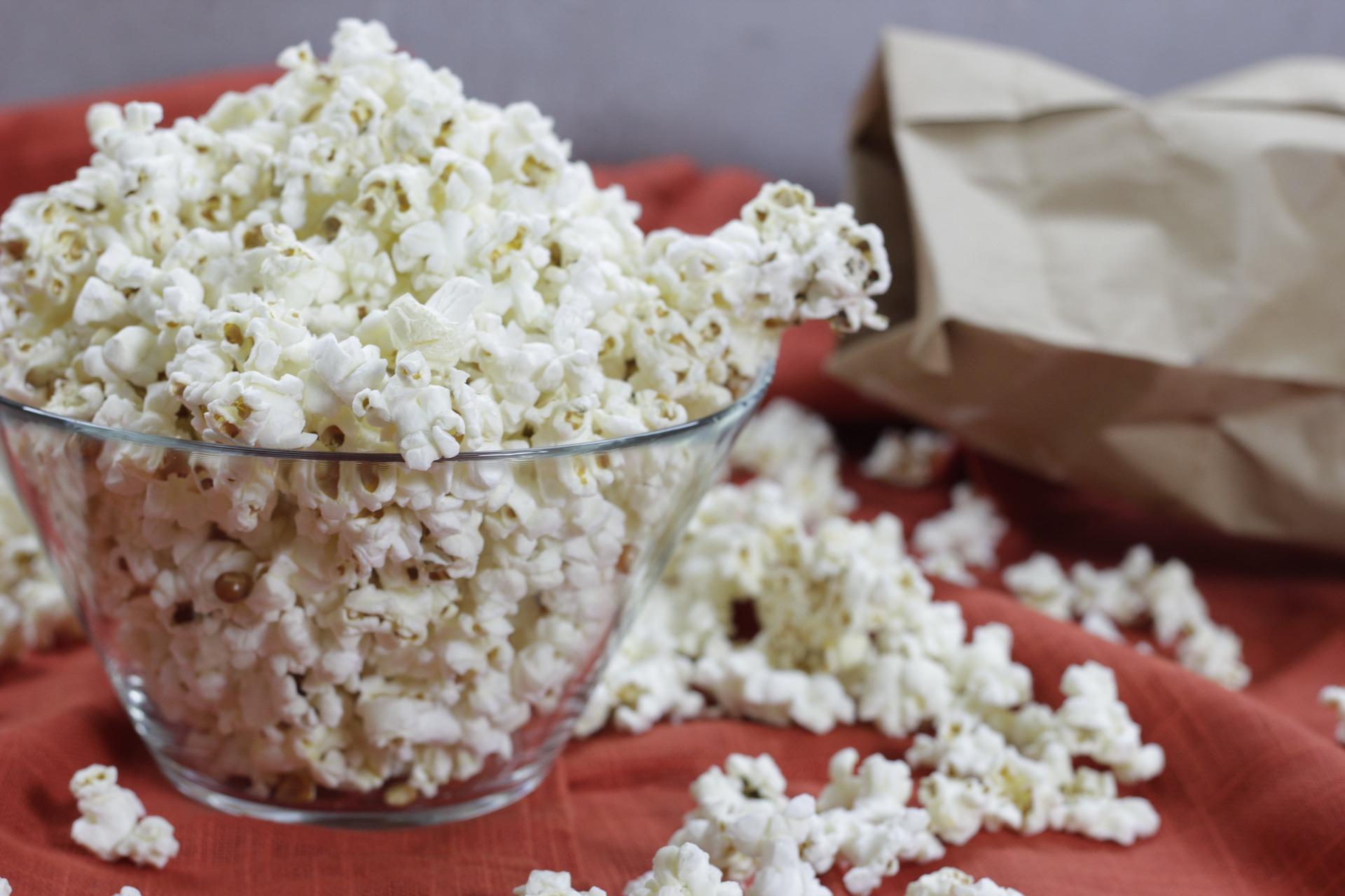 Palomitas de maíz en el cine