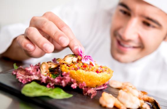 Cocina gorumet Manipulador de Alimentos